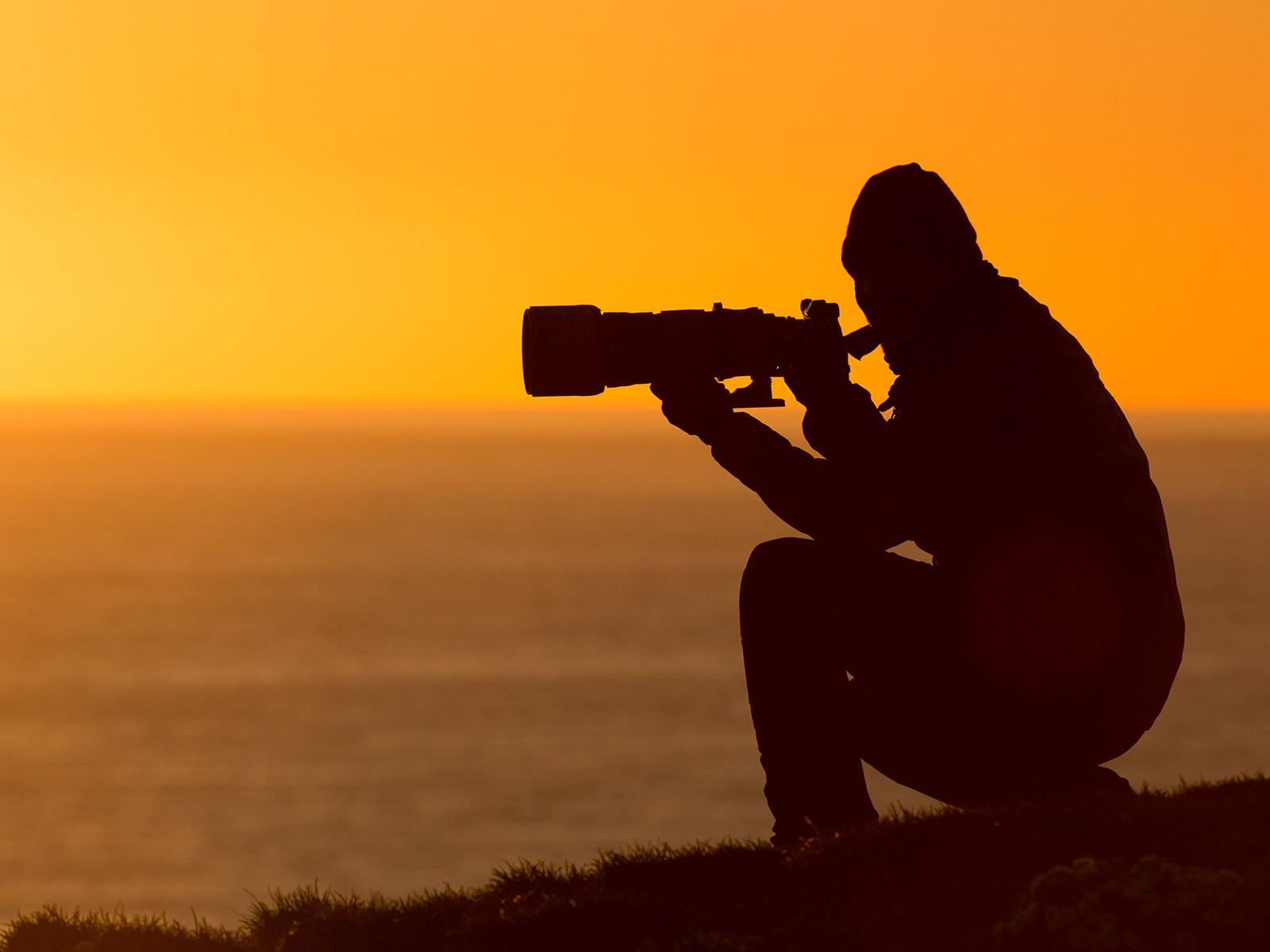 image photo au crépuscule - Iffcam