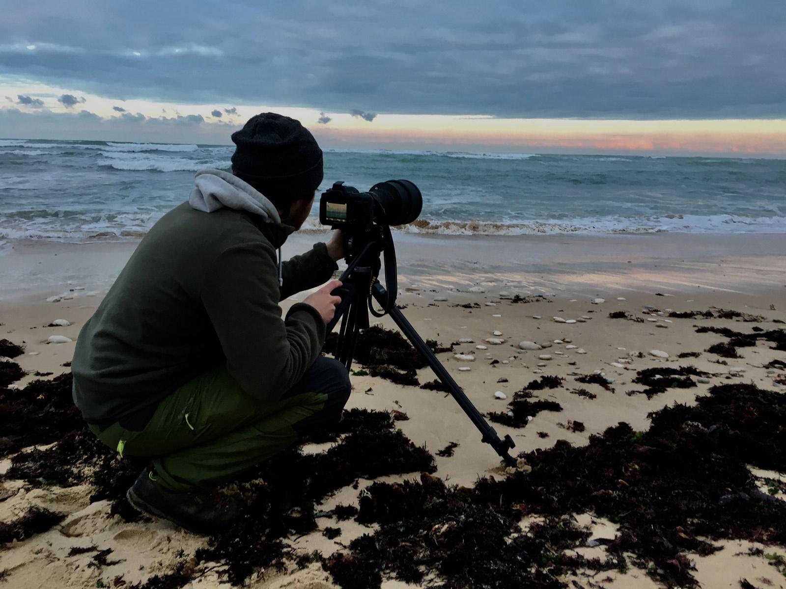 image filmer sur une plage - Iffcam