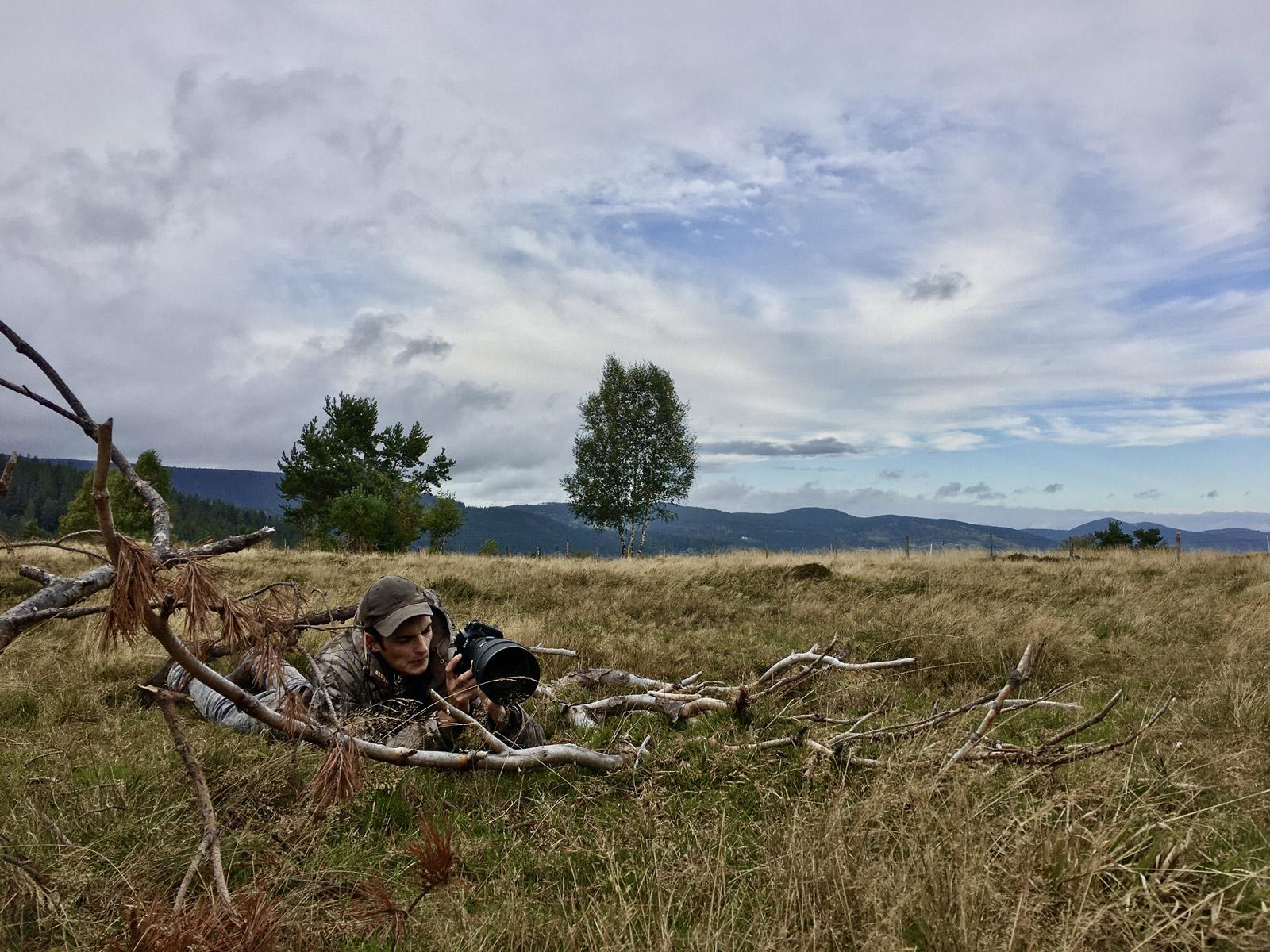 image filmer en nature dans du relief - Iffcam