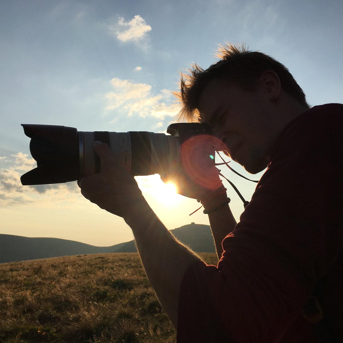 photo d'un photographe - Iffcam
