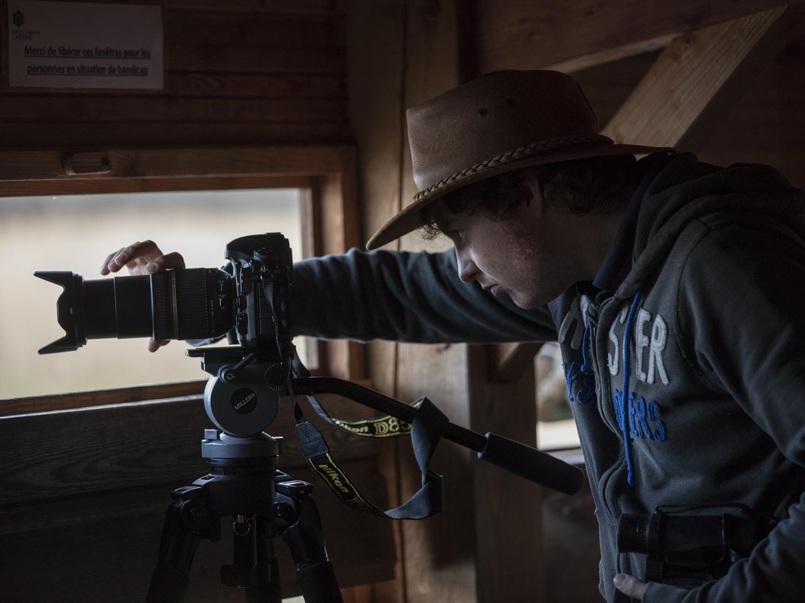stage filmer les animaux en milieu naturel à l'iffcam