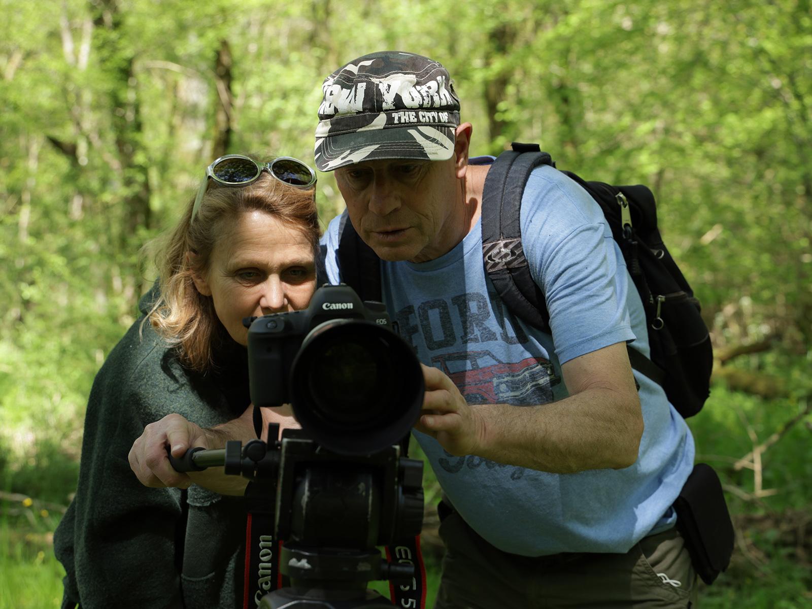 stage filmer la nature avec appareil photo numérique à l'iffcam