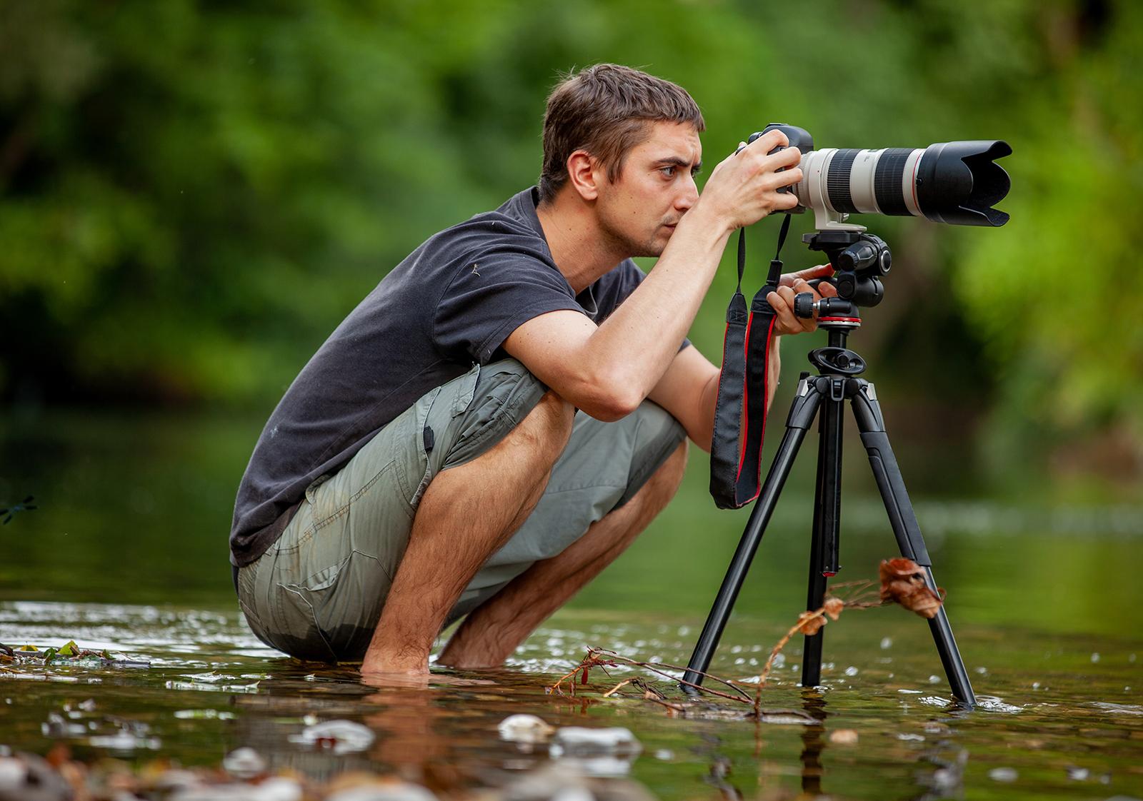 photo dans une rivière - Iffcam